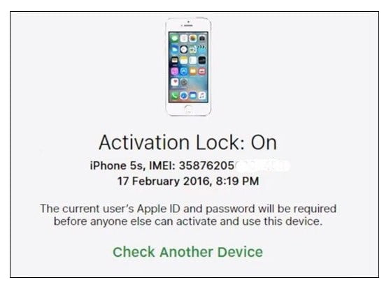 Activation Lock Check for iPhone