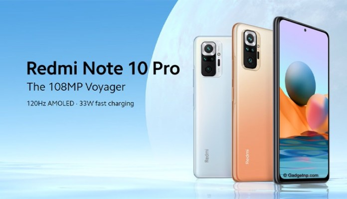 Redmi Note 10 Pro (Max) with a 108MP camera launched