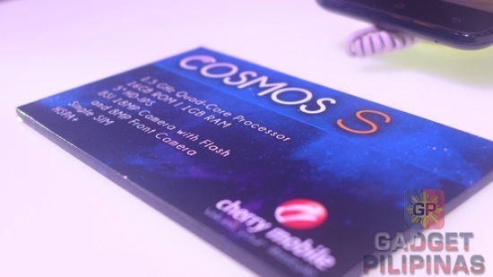 Cherry Mobile Cosmos S Specifications