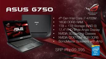 G750 Gaming Notebook