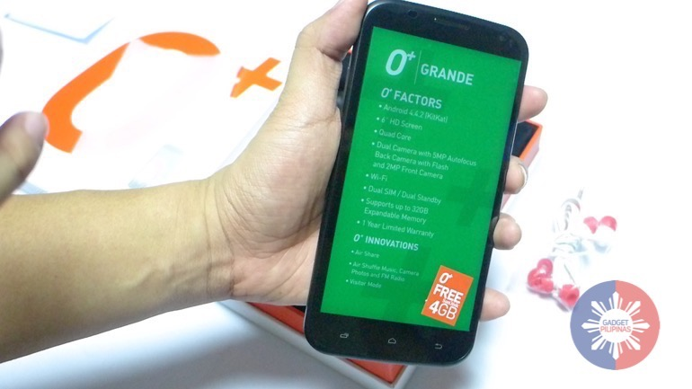 , O+ Grande Is Your Entry Level Movie Viewing Phone, Gadget Pilipinas, Gadget Pilipinas