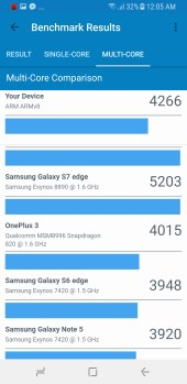 Galaxy A8 2018 Geekbench 3