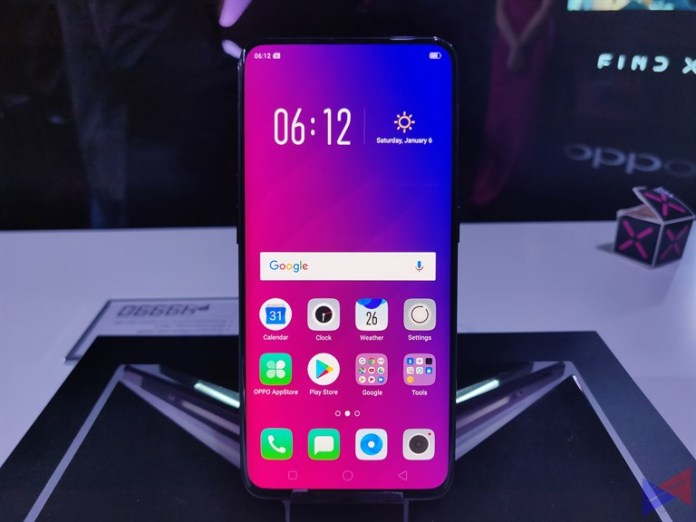oppo findx launch 7