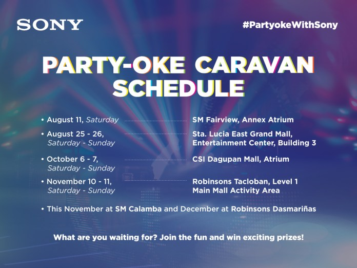 sony party oke 2