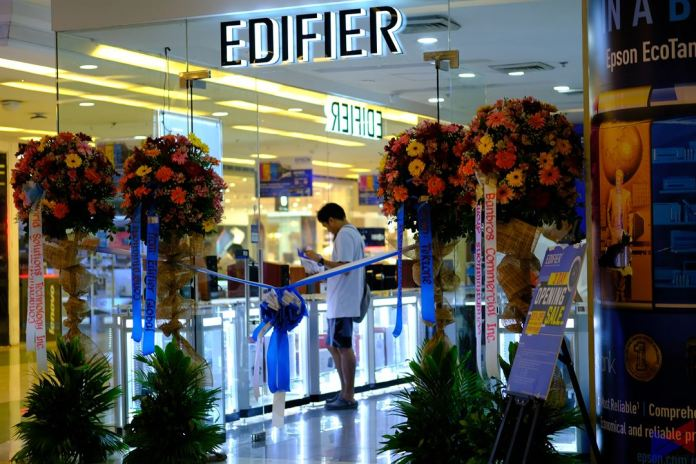 edifier store opening 27