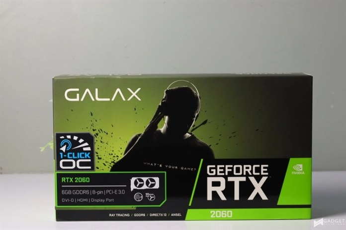 Galaxy RTX 2060 Product Photo Review 7