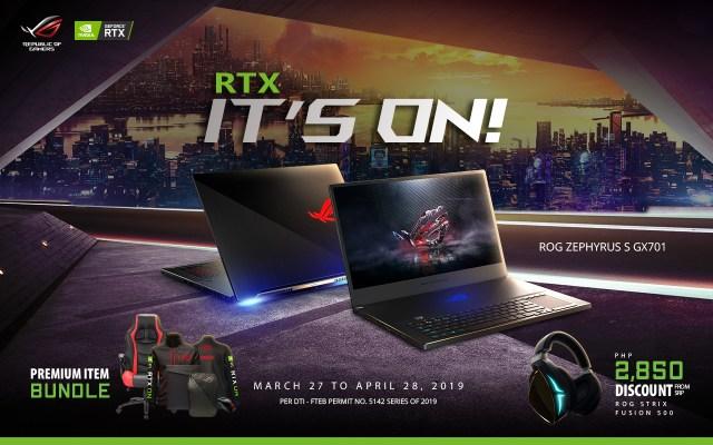 rtx its on gx701