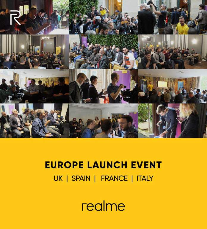 KEY VISUAL Realme Comes to Europe PR