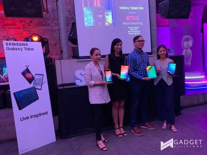 galaxy tabs, Samsung partners with Netflix, Officially Launches New Galaxy Tabs, Gadget Pilipinas, Gadget Pilipinas