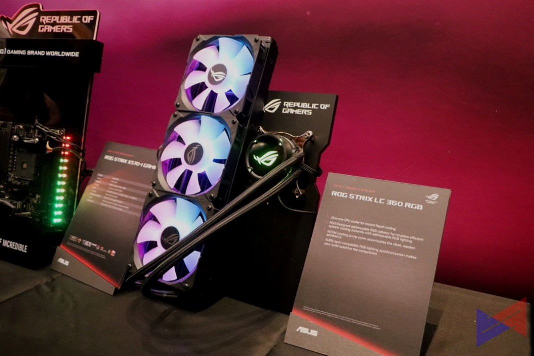 ROG Strix LC RGB, ASUS introduces ROG Strix LC 120/240/360 All-in-One CPU Cooler, Gadget Pilipinas, Gadget Pilipinas