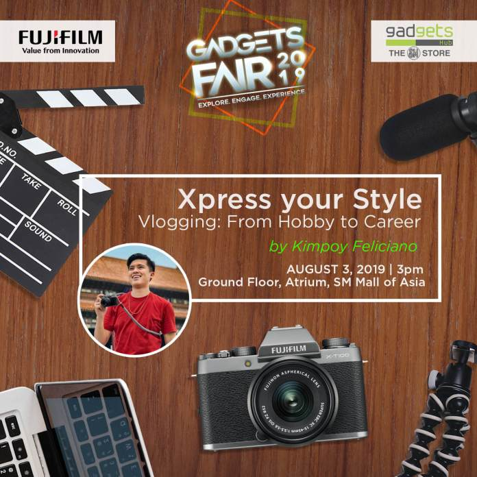 FUJIFILM vlogging workshop 1