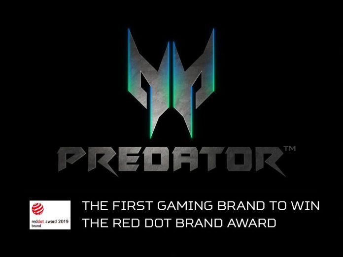 Predator x Red Dot Award 2019