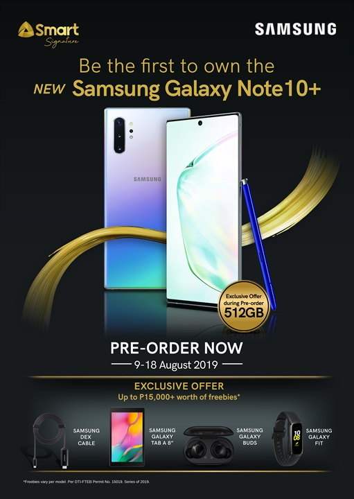 galaxy note 10 smart, Smart Announces Pre-Order Details for the Samsung Galaxy Note 10 Series!, Gadget Pilipinas, Gadget Pilipinas