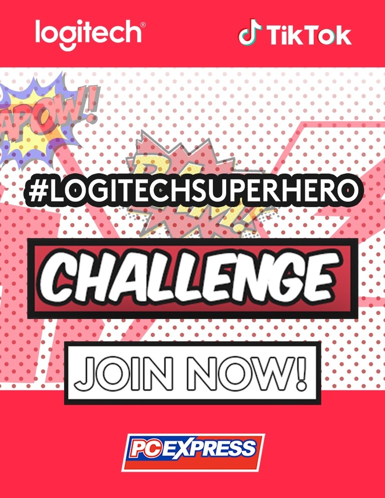 logitech tiktok, Logitech Partners with TikTok for its Superhero Campaign!, Gadget Pilipinas, Gadget Pilipinas