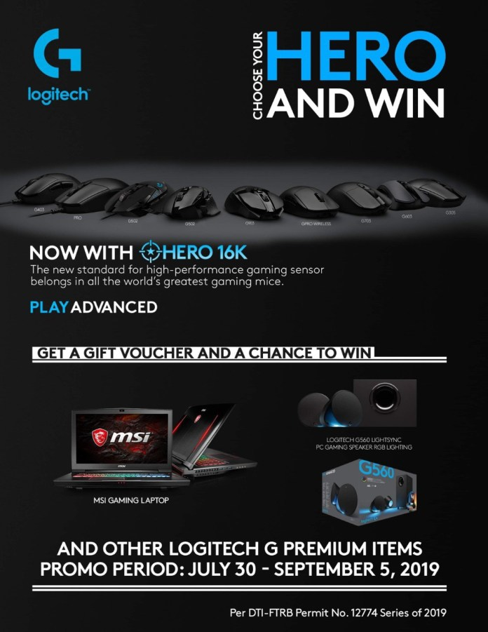 logitech choose your hero 2