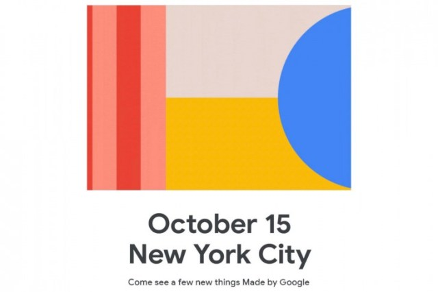 google pixel october 15