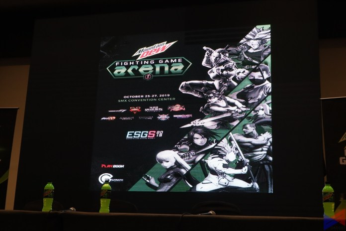 ESGS 2019 Fighting Game Arena