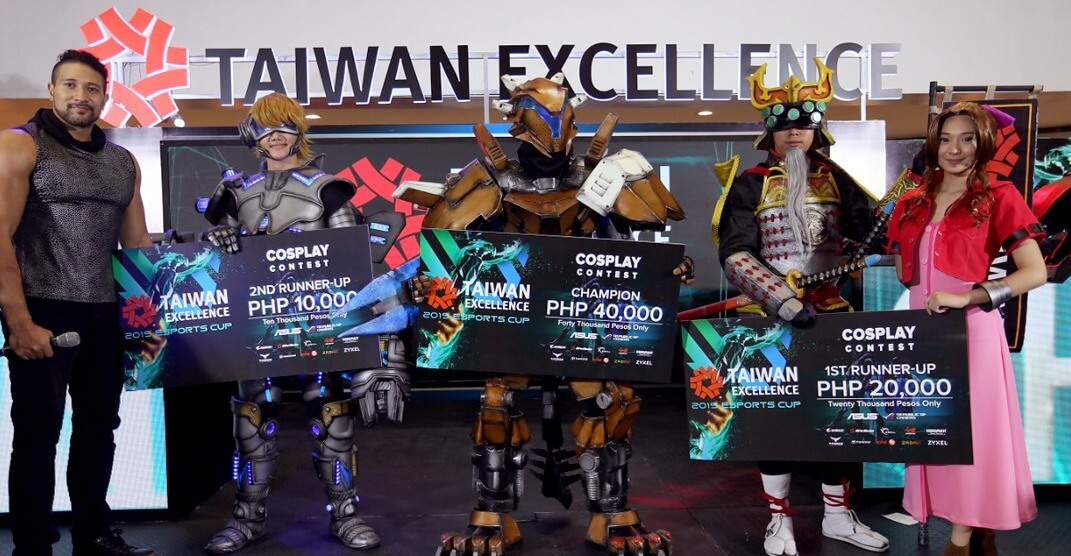 Taiwan Excellence Esports Cup 2019 Cosplay Winners