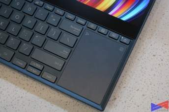 Zenbook Pro Duo Review - Touchpad