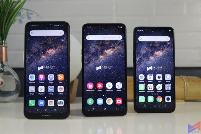 Huawei Y6s vs Samsung Galaxy A10s vs OPPO A5s, Quick Comparison: Huawei Y6s vs Samsung Galaxy A10s vs OPPO A5s, Gadget Pilipinas, Gadget Pilipinas