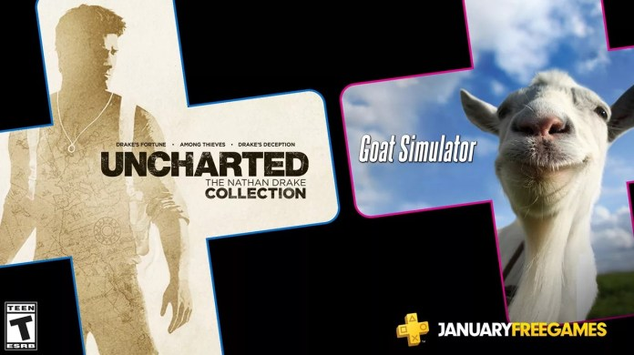 ps plus free games january 2020, PS Plus Free Games for January 2020 includes Uncharted and Goat Simulator, Gadget Pilipinas, Gadget Pilipinas