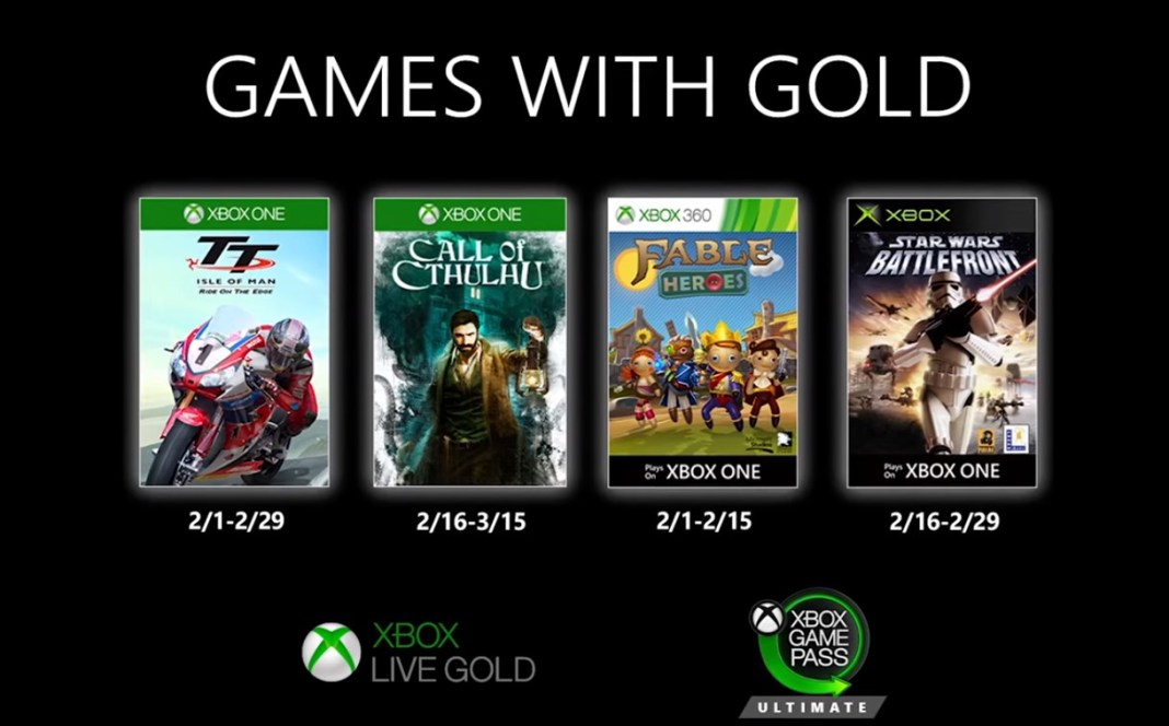 xbox games with gold february, Xbox Games with Gold lineup for February 2020 announced, Gadget Pilipinas, Gadget Pilipinas