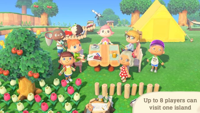 animal crossing new horizons nitendo direct multiplayer