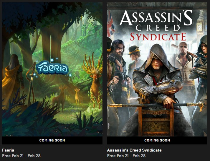 Assassin S Creed Syndicate Will Be Free On The Epic Store Soon