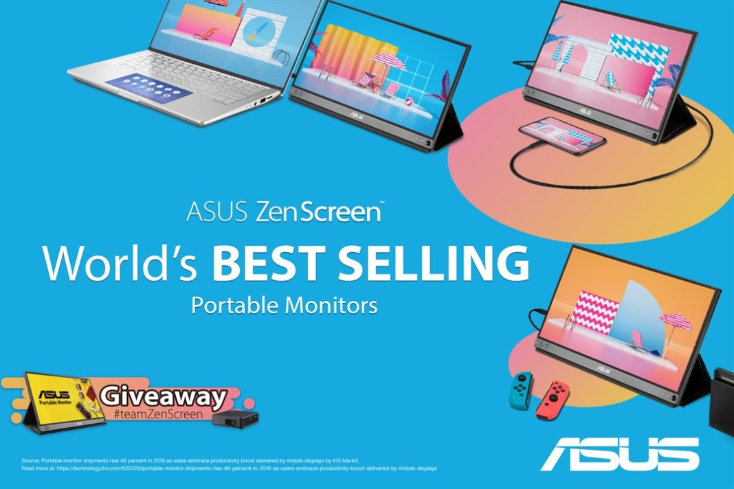 ZenScreen - The World's Best Selling Portable Monitor Series