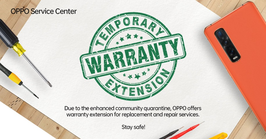 OPPO Implements Warranty Extension