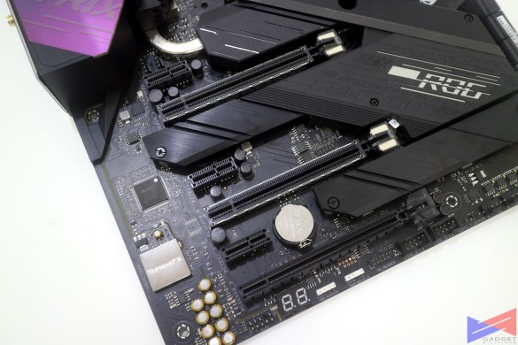 ASUS ROG Strix Z490-E Gaming Motherboard Initial Review - M2 slot