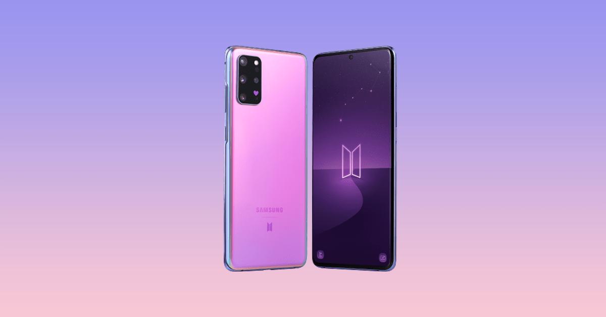 Galaxy S20+ BTS Edition 6