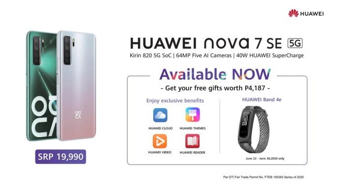 Nova 7 SE 5G Buy Now - 1