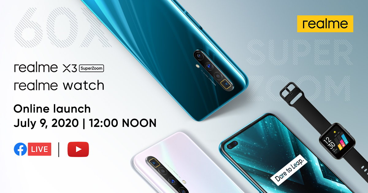 realme X3 SuperZoom Teaser