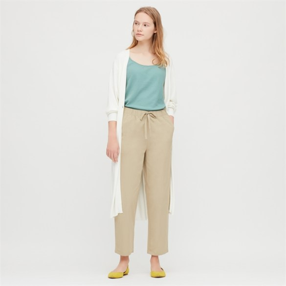 Ws Cotton Relax Ankle Pants
