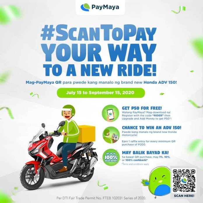 PayMaya for Riders