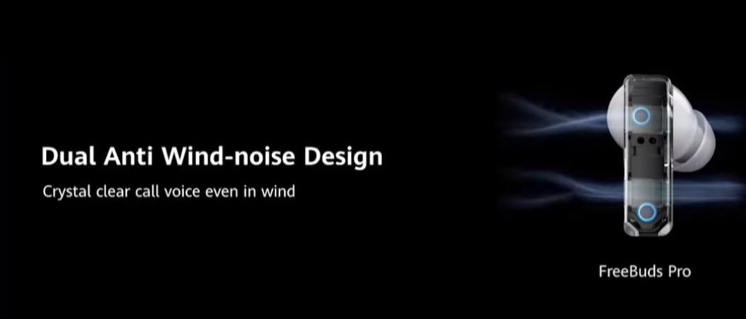 FreeBuds Pro - Dual Anti-Wind