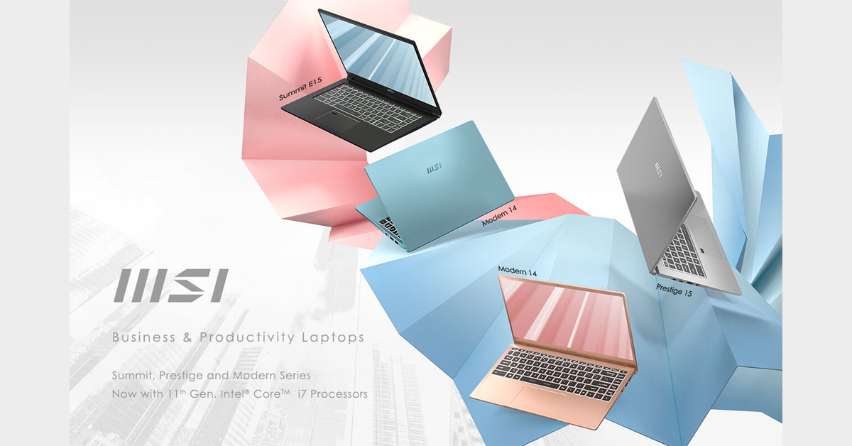 MSI Business and Productivity - Featured