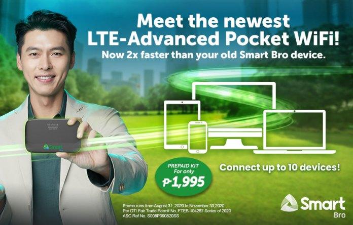 Prepaid Smart Bro LTE-A Pocket WiFi