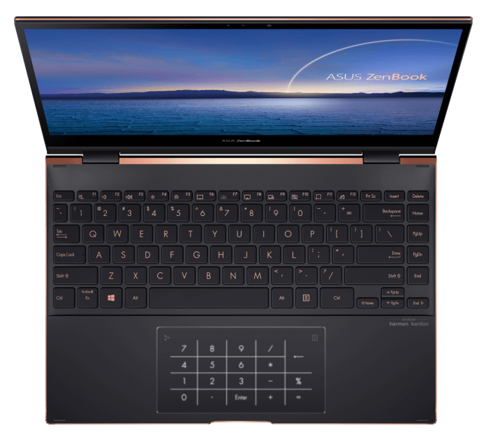 ZenBook Flip S_UX371_Efficient NumberPad for fast numeric input