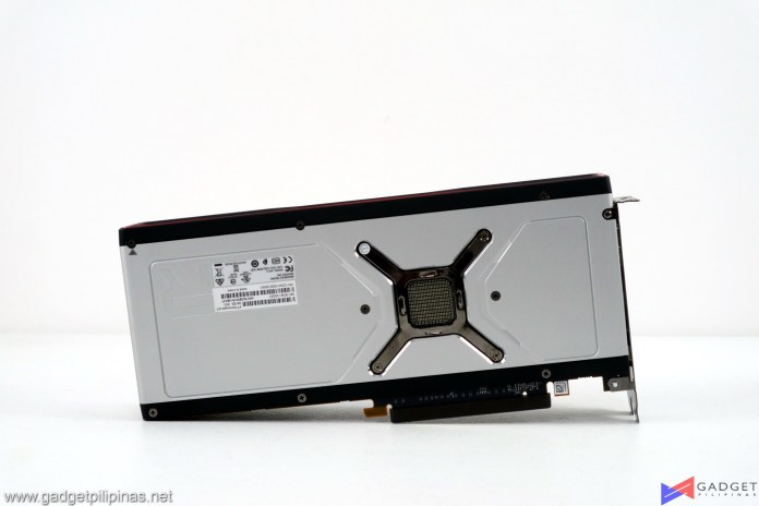 AMD Radeon RX 6800 XT Review backplate