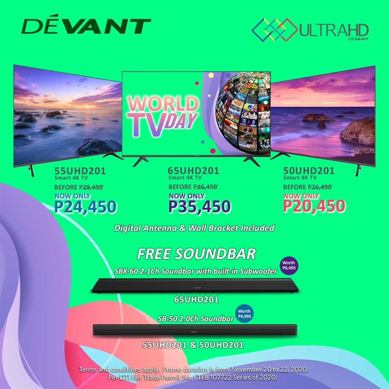Devant World TV Day Promos - 3