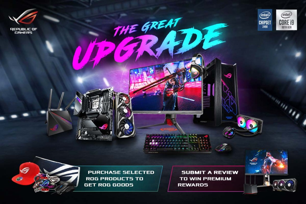 ROG The Great Upgrade