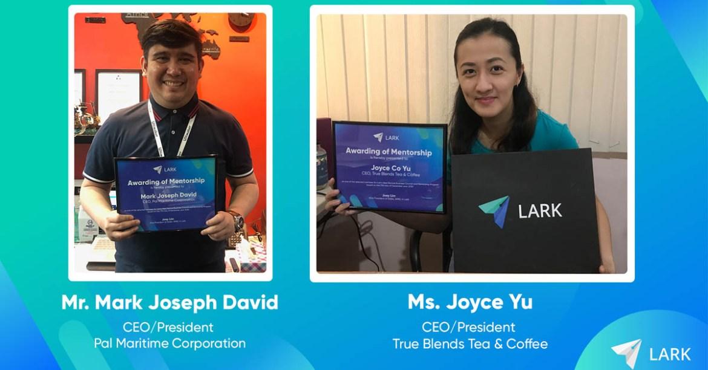 Lark Your Way to Success Webinar Winners - 1