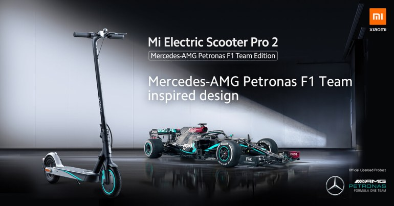 Mi Electric Scooter Pro 2 - Mercedes AMG Ed 3
