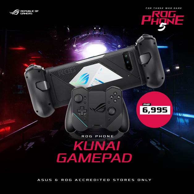 ROG Phone 5 Series - ROG Kunai Gamepad