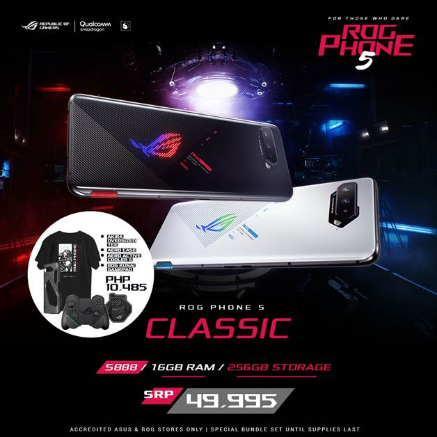 ROG Phone 5 Series - ROG Phone 5 Classic 16GB Special Bundle
