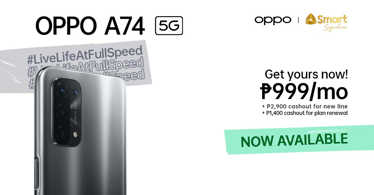 OPPO A74 5G Smart Signature - 1
