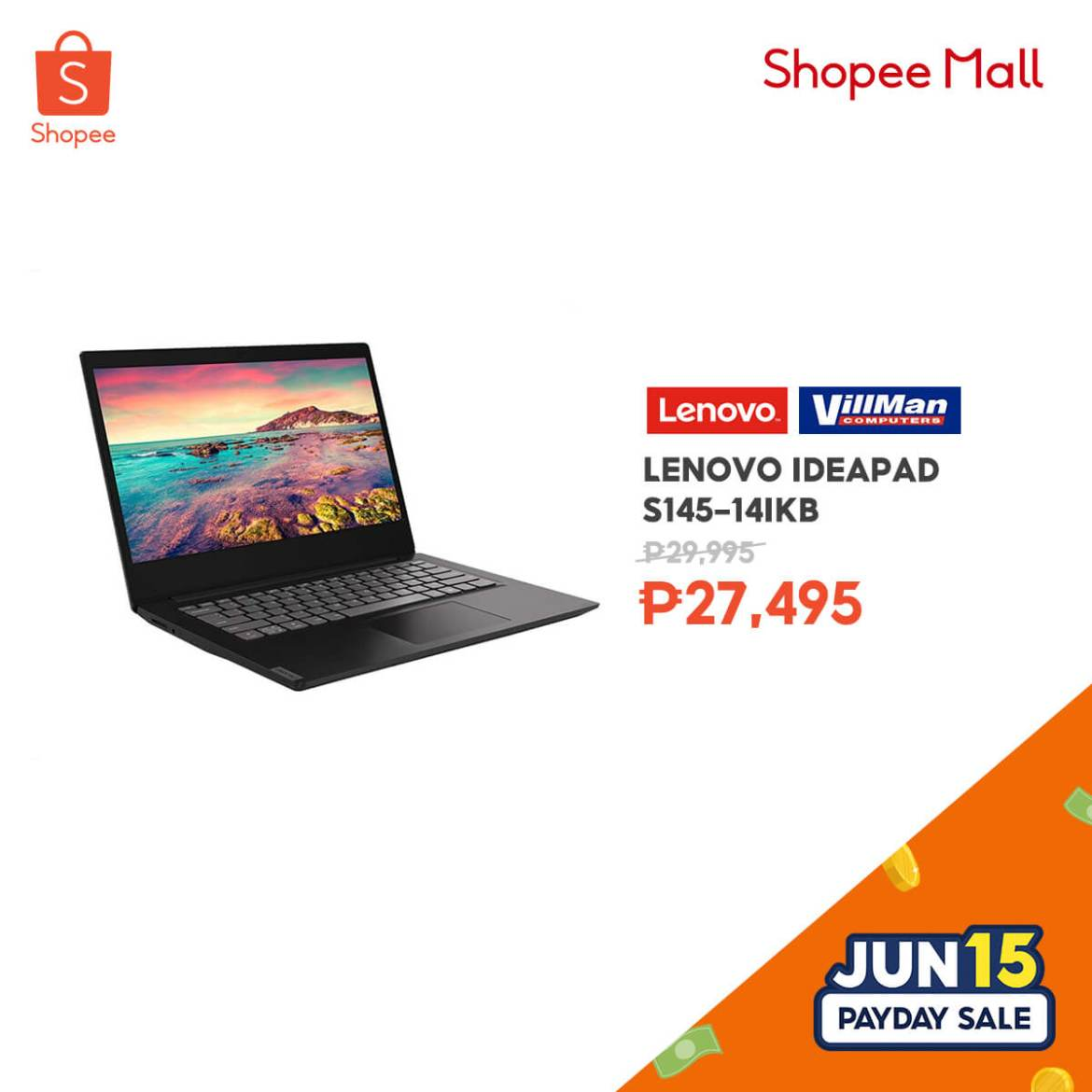 6.15 Payday Sale Father's Day (Techie) Lenovo