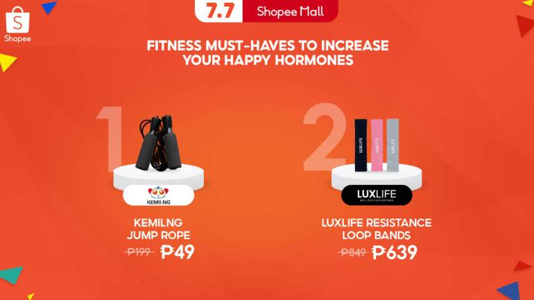 Shopee 7.7 Mid-Year Sale work out